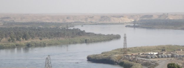 Euphrates below Haditha Dam