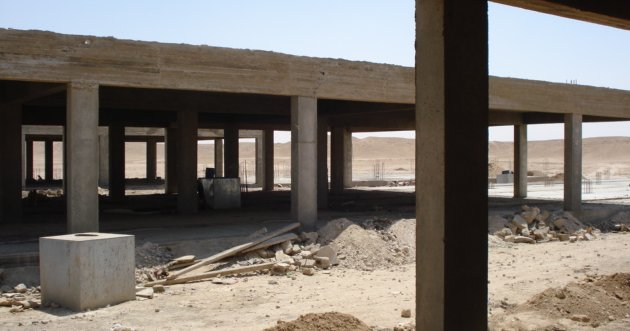 Dairy farm construction in Anah, Western Iraq