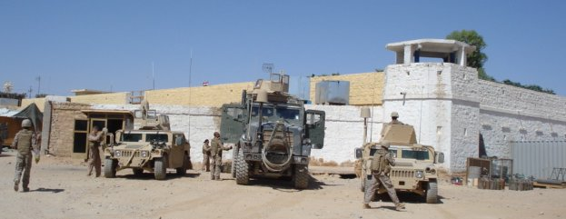 British fort in Rutbah Iraq