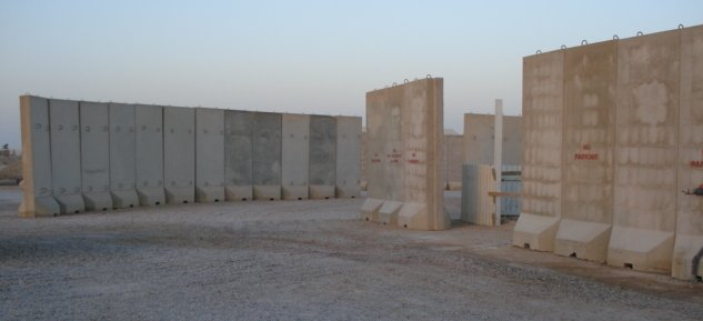 Texas barriers in al Asad iraq
