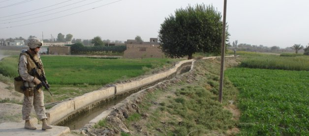 Farm land in Iraq