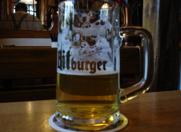 Bitberger Bier in Frankfurt