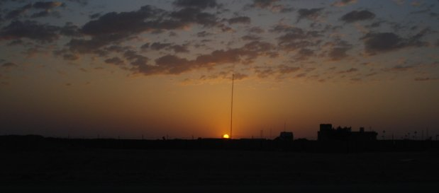 Dawn in Iraq May 3, 2008