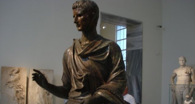Augustus Caesar from Greek Archeological Museum