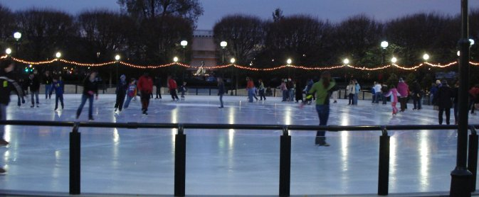 Ice Rink in Washington
