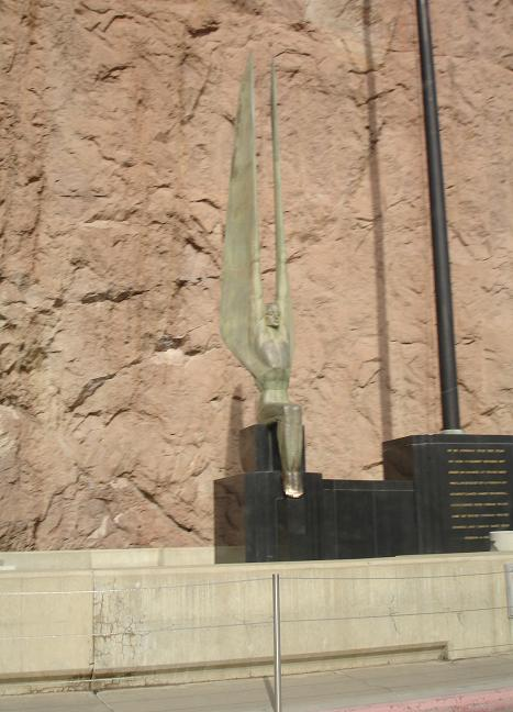 Statue at Hoover Dam