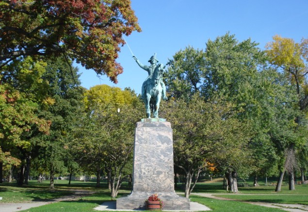 Statue of Kosciszko in Milwaukee