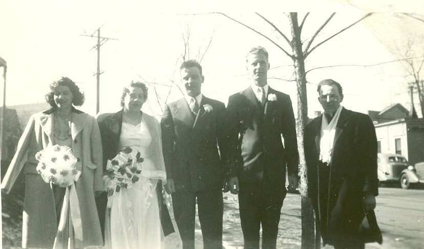 John Matel and Virginia Haase wedding