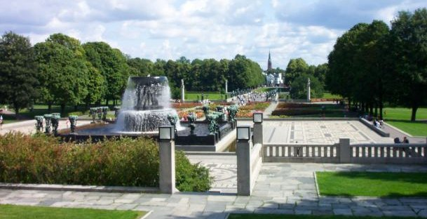 Picture of Frogner Park in Norway taken by Samuli Lintula