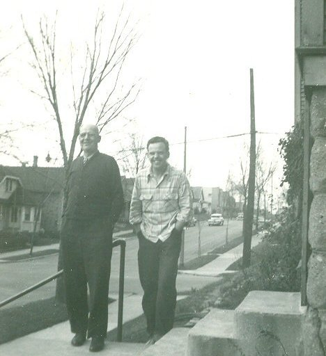 John Matel Sr and Emil Haase 1949