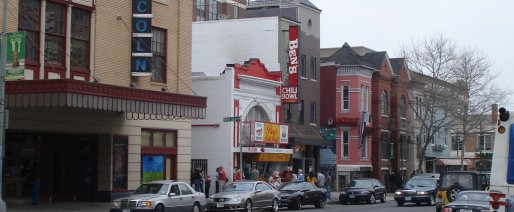 President Obama's favorite restaurant, Ben's Chili Bowl on March 7, 2009