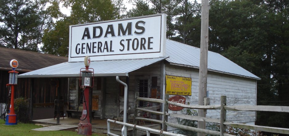 Old timey general store