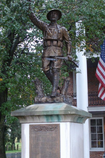 World War I memorial in Emmitsburg, MD