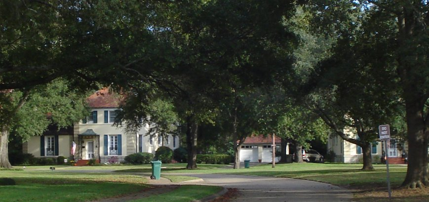 Housing at Maxwell AFB on October 22, 2009