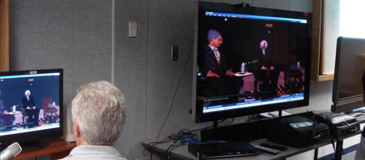 Second life doing virtual program with President Obama's Ghana speech on July 11, 2009
