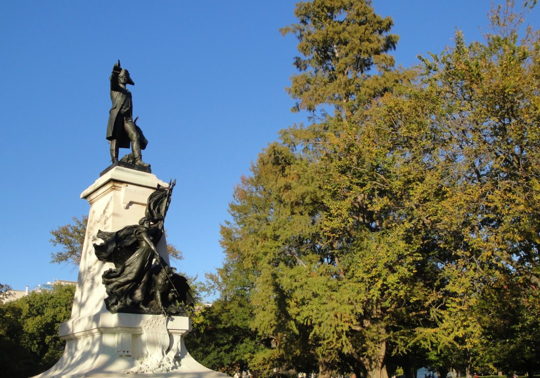 Rochambeau in Lafayette Park in Washington