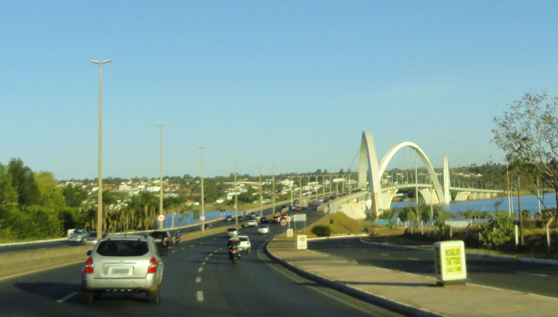 JK Bridge in Brasilia