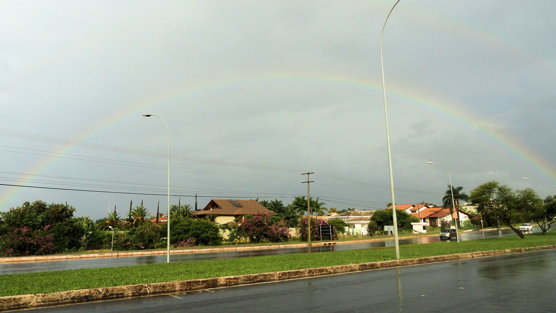 Rainbow in Brasilia