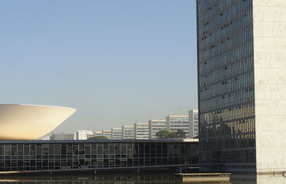 Brazilian National Assemby and Ministry buildings