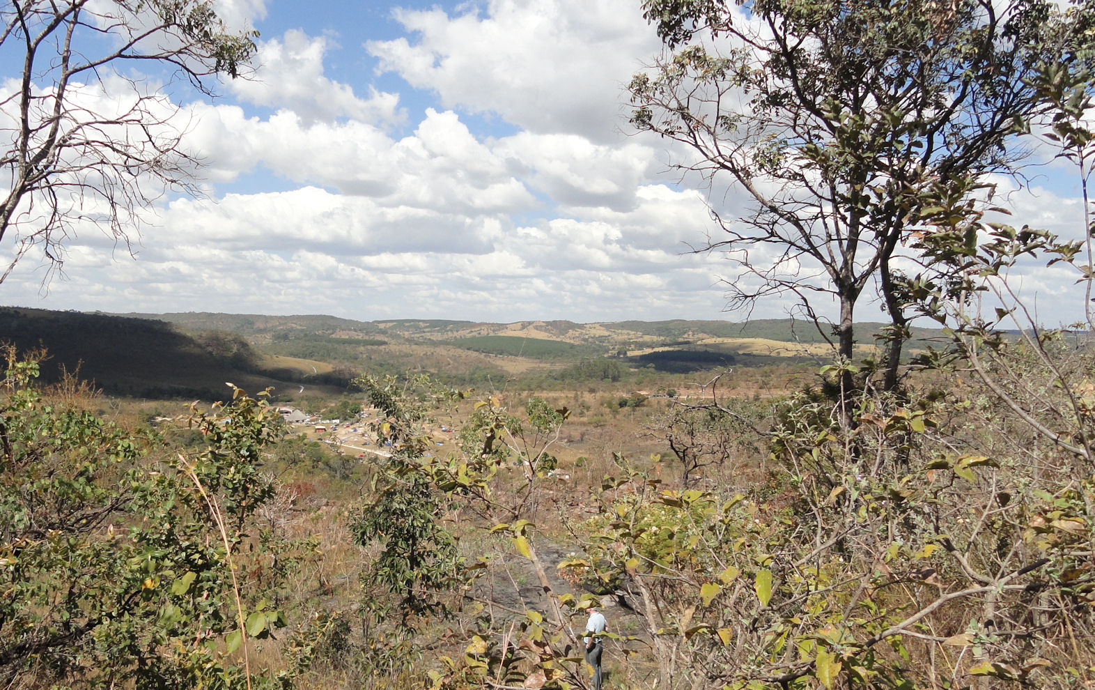 Wild landscape in Goias