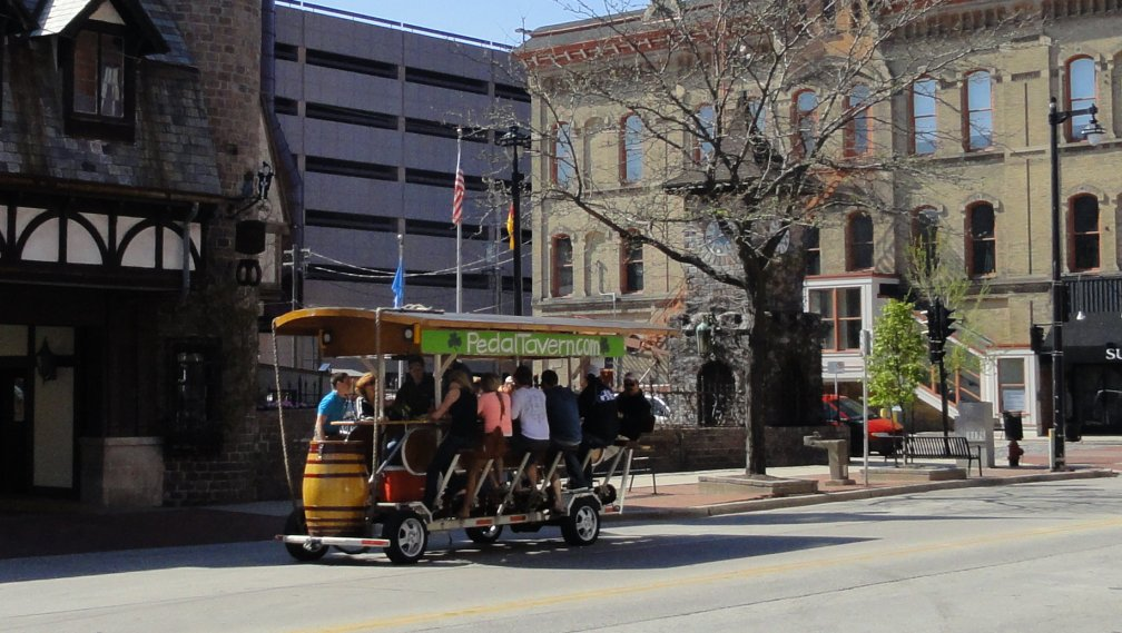 Pedal Tavern in Milwaukee, Wisconsin