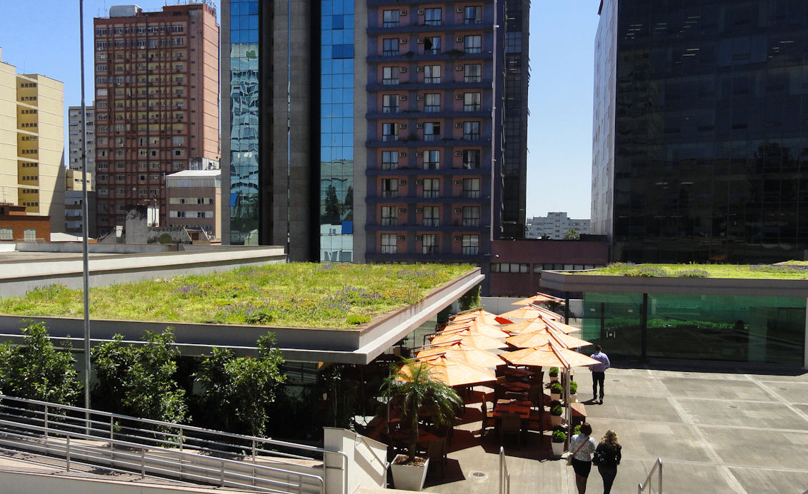 Green roof in Porto Alegre