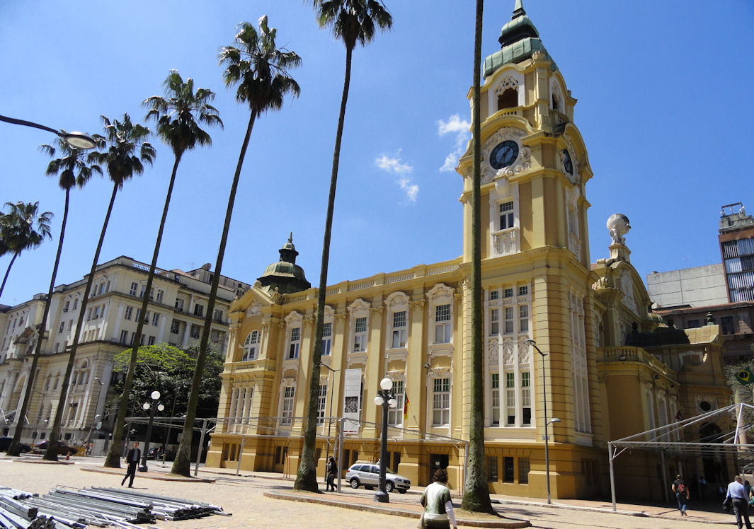 Old post office in Porto Alegre