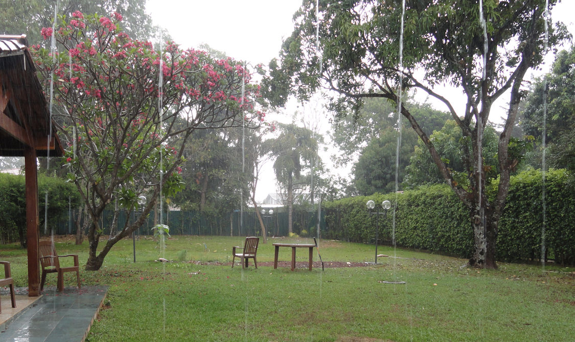 Rainy day in Brasilia