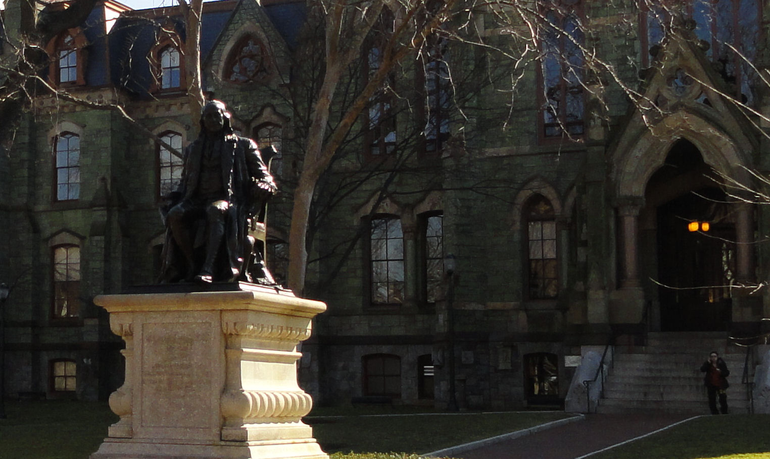 Frankin statue at University of Penn