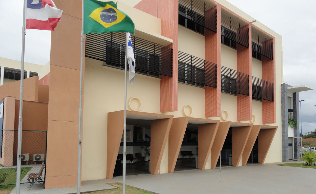 SESI building in Salvador, Bahia