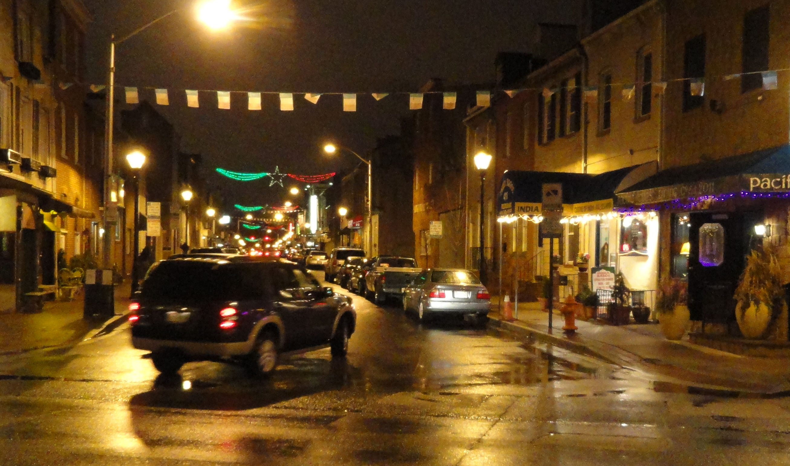Little Italy in Baltimore