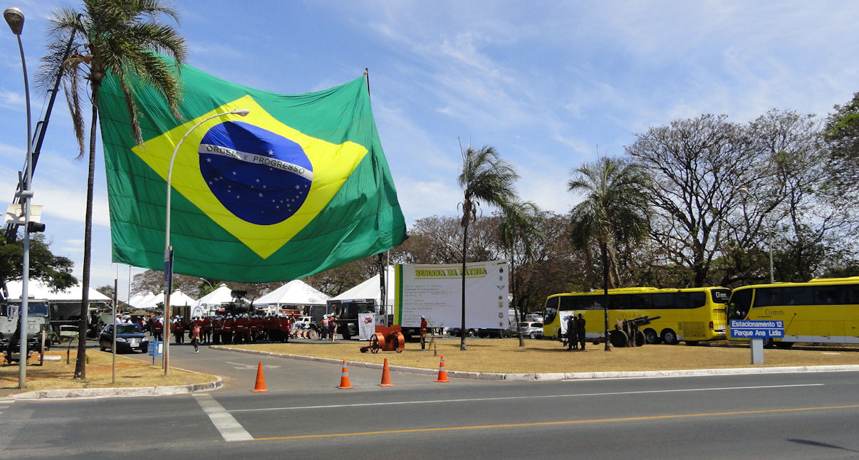 Patriot week in Brasilia